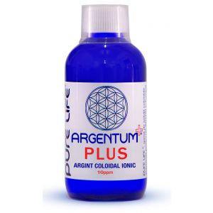 ARGINT COLOIDAL - ARGENTUM+ 10 PPM PLUS 100/240/480 ml, Pure Life