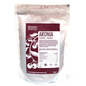 ARONIA PULBERE RAW BIO, 200 g, Dragon Superfoods