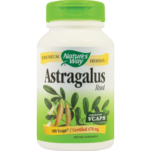ASTRAGALUS,100 capsule vegetale, 470 mg, Nature's Way