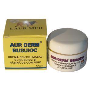 CREMA CU BUSUIOC - AUR DERM 50 ml, Laur Med