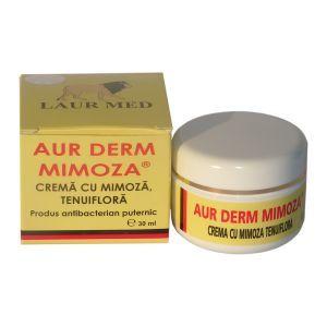 CREMA CU MIMOZA TENUIFLORA 5%, 30 ml, Laur Med