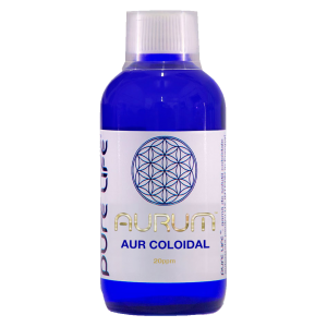 AUR COLOIDAL - AURUM 20 PPM, 240/480 ml, Pure Life
