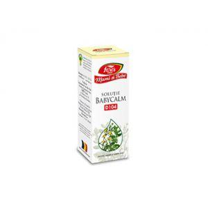 BABYCALM Soluție D104 (Pentru sugari și copii mici), 30 ml, Mami și bebe - Fares