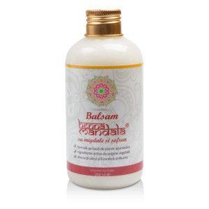 BALSAM CU MIGDALE SI SOFRAN 200 ml, Henna Mandala