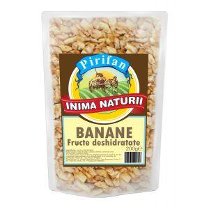 BANANE CHIPS DESHIDRATATE 200 g, Pirifan