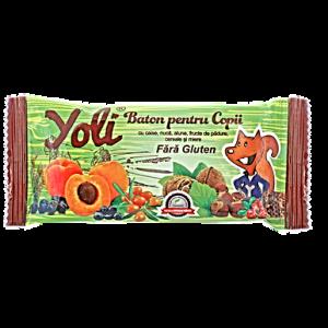 BATON YOLI CU CAISE PENTRU COPII 40 g, Nutribon