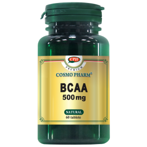 BCAA 500 mg, 60 tablete, Cosmo Pharm