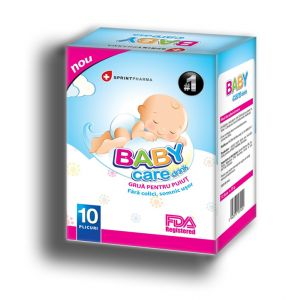 BABY CARE DELICIOUS DRINK, 10 Plicuri, Sprint Pharma