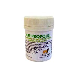BEE PROPOLIS, 30 comprimate, Laur Med