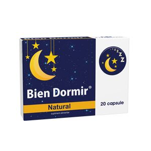 BIEN DORMIR NATURAL 20 capsule, Fiterman Pharma