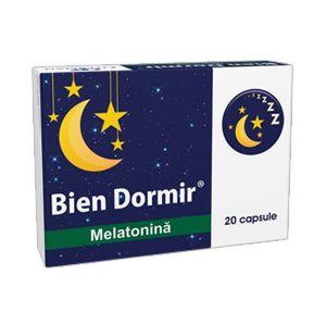 BIEN DORMIR CU MELATONINA 20 capsule, Fiterman Pharma