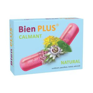 BIEN PLUS - CALMANT NATURAL 20 capsule, Fiterman Pharma