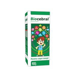 BIOCEBRAL SIROP 200 ml, Fiterman Pharma