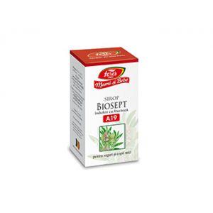 BIOSEPT A19 Sirop cu fructoză pentru sugari și copii mici,100 ml, Mami și bebe - Fares