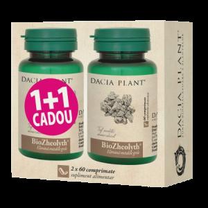 BIOZHEOLYTH 2 x 60 comprimate, 1+1 CADOU, Dacia Plant