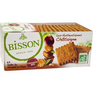 BISCUITI CASTANE - LES AUTHENTIQUES BIO 175 g, Bisson