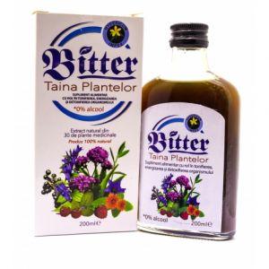 BITTER TAINA PLANTELOR - FARA ALCOOL 200 ml, Hypericum Impex