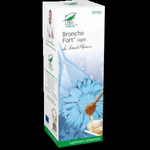 BRONCHO FORT NIGHT SIROP, 100 ml, Laboratoarele Medica