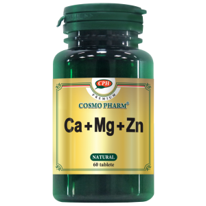 CA + MG + ZN 60 tablete, Cosmo Pharm