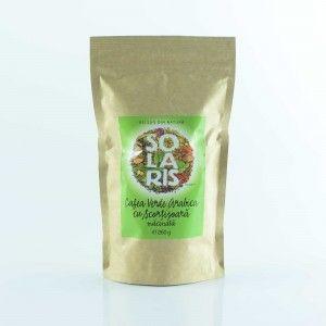 CAFEA VERDE ARABICA MACINATA CU SCORTISOARA 260 g, Solaris