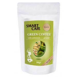 CAFEA VERDE MACINATA DECOFEINIZATA  CU CARDAMOM  BIO, 200 g, Dragon Superfoods