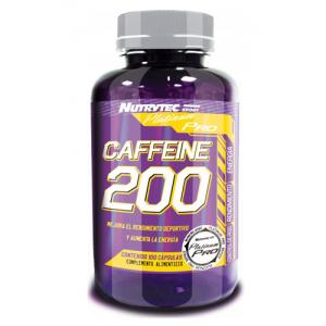 CAFEINA 200 mg, 100 capsule, Nutrytec Platinum Pro