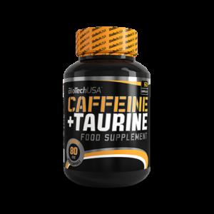 CAFFEINE & TAURINE 60 capsule, Biotech Nutrition