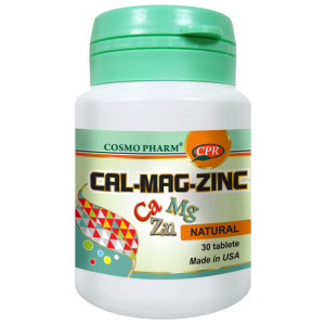 CAL – MAG – ZINC 30 tablete, Cosmo Pharm