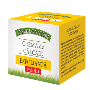 CREMA DE CALCAIE EXFOLIANTA - VERRE DE NATURE 100 ml, Manicos