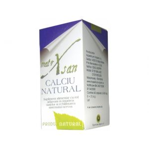 CALCIU NATURAL 60 capsule, Hypericum Impex