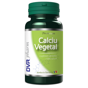 CALCIU VEGETAL 60 capsule, DVR Pharm