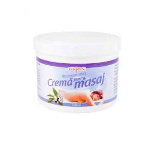 CREMA PENTRU MASAJ - EXTRACT CAMFOR, 500 ml, Casaherba
