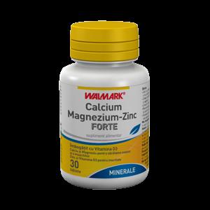 CALCIUM MAGNEZIUM ZINC FORTE 30 tablete, Walmark