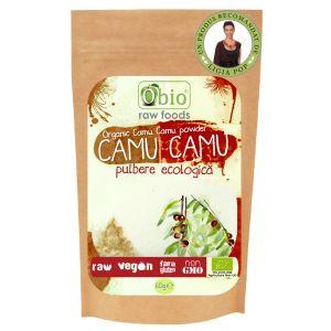 CAMU CAMU PULBERE RAW BIO 60 g, Obio