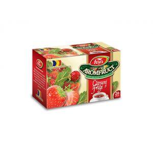 CAPSUNI SI FRAGI - AROMFRUCT, Ceai 20 plicuri a 2 grame, Fares