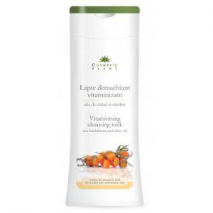 LAPTE DEMACHIANT VITAMINIZANT CU ULEI DE CATINA SI MASLINE 200 ml, Cosmetic Plant