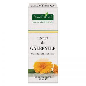 GALBENELE - Calendula Officinalis, Tinctura 50 ml, Plant Extrakt