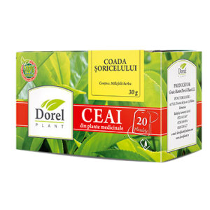COADA SORICELULUI, Ceai 20 plicuri, Dorel Plant