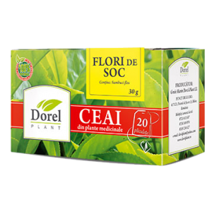 SOC - FLORI, Ceai 20 plicuri, Dorel Plant
