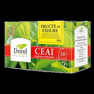 FRUCTE DE PADURE, Ceai 20 plicuri, Dorel Plant