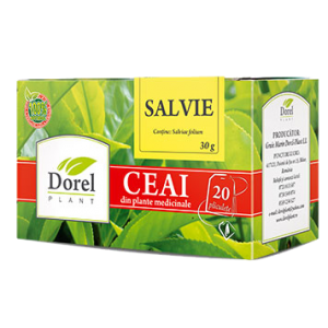 SALVIE, Ceai 20 plicuri, Dorel Plant