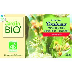 DRENARE BIO, Ceai 20 plicuri x 1.5 g, Jardin Bio