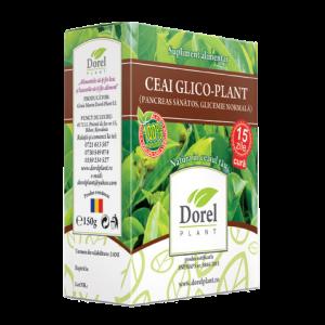 GLICO PLANT (PANCREAS SANATOS, GLICEMIE NORMALA); Ceai 150 g, Dorel Plant