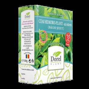 HEMORO PLANT - UZ EXTERN (BAI DE SEZUT), Ceai 150 g, Dorel Plant