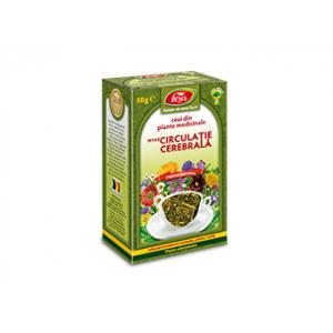 CIRCULATIE CEREBRALA N141, Ceai 50 g, Fares