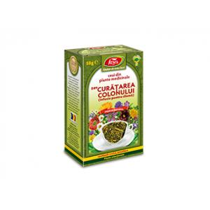 CURATAREA COLONULUI (Infuzie pt. clismă) D89, Ceai 50 g, Fares