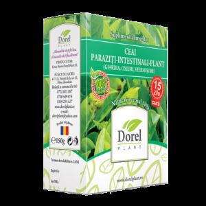 PARAZITI INTESTINALI PLANT (OXIURI, GIARDIA, VIERMISORI), Ceai 150 g, Dorel Plant