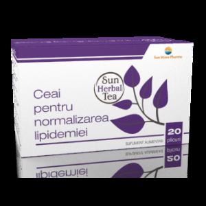 CEAI PENTRU NORMALIZAREA LIPIDEMIEI 20 plicuri x 2,5 g, Sun Wave Pharma