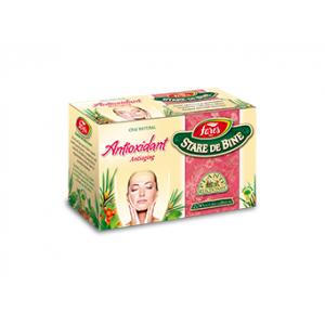 ANTIOXIDANT, Ceai 20 plicuri a 1,5 grame, Fares