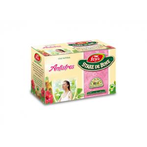 ANTISTRES, Ceai 20 plicuri 1,5 g, Fares